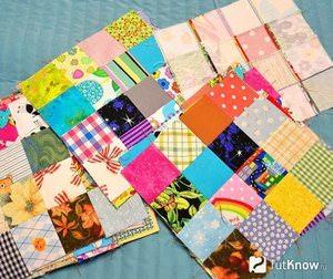 Лоскутное одеяло в стиле пэчворк: описание работы и виды выкроек, ткани для работы