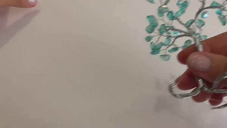 бонсай из проволоки