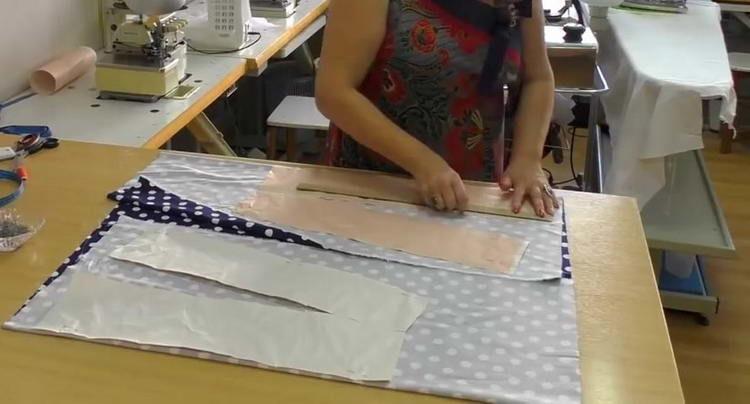 выкройка юбки трапеции для начинающих